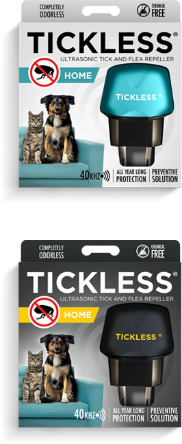 TICKLESS Home Ultrasonic Tick And Flea Repeller For Pets